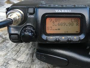 FT-817 a popular QRP transceiver